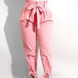 Pants - High waist pleated pants  NWOT